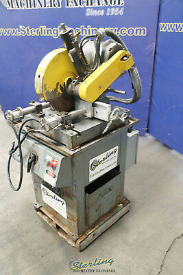 """14"""", Used Kalamazoo High Speed Semi-Auto Non-Ferrous Mitre Saw Great for Cutting"""
