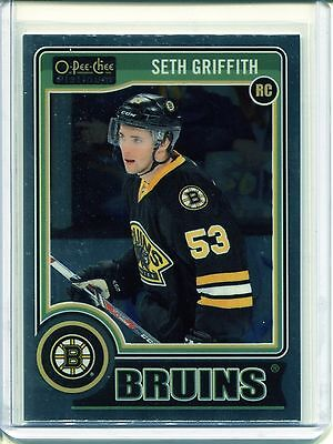 2014-15 OPC O-Pee-Chee Hockey Platinum Base  #199  Seth Griffith  RC
