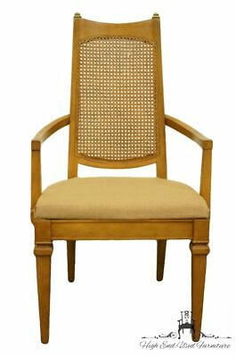 DREXEL HERITAGE San Remo Italian Provincial Cane Back Dining Arm Chair 472-731