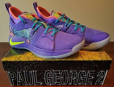 80b79b29597a NEW NIKE PG 2 MM Mamba Mentality Paul George Purple AO2986-001 Men s ...