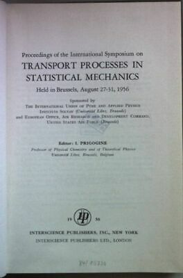 Proceedings of the International Symposium on Transport Processes in Statistical