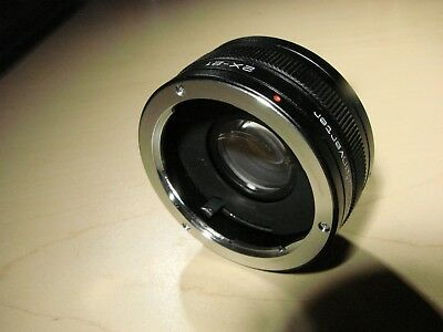 Vivitar Camera Automatic Teleconverter 2X-21 for Olympus OM Series
