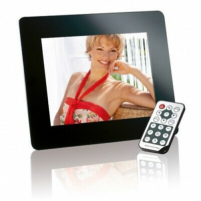 "Intenso 3916800 8"" MediaDirector digital photo frame 20.3 cm (8"") Black (20.32"