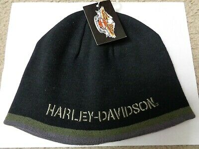 198cb34650973 HARLEY DAVIDSON NWT Antique Suede Distressed Leather Cap / One Size ...