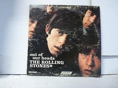 THE ROLLING STONES: Out Of Our Heads (1965 LP) USA LL 3429 Mono MORE LPs  X