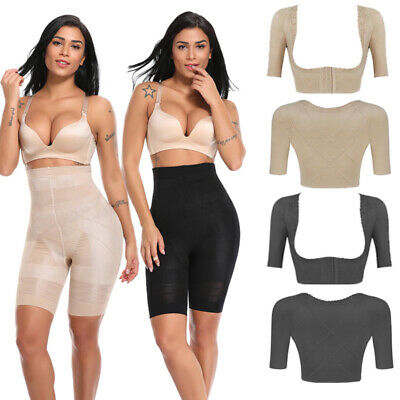 Women's Upper Arm Compression Shapewear Seamless Sleeve Tops Vest Body Shaper
