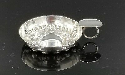 Silver Plated Handheld Wine Tasting Cup By Pm Italy Italian