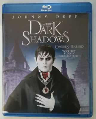 Dark Shadows (Blu-ray Disc, 2012, Canadian)