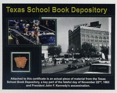 Texas School Book Depository - Fragment of the Site of the Kennedy Assassination