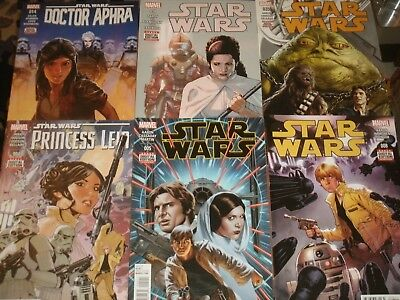 STAR WARS 'Comics' Leia Vader Solo Lando Jedi Skywalker Force Movies Marvel / DH
