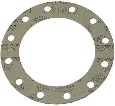 Gasket outside 110mm inside 74mm Hole Distance 24,5mm Material Thickness 2mm