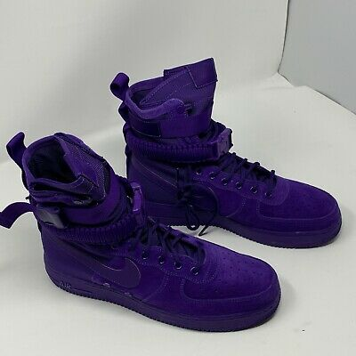8ae947aae0eeee NIKE SF AIR Force 1 Mens Size 10 NO BOX Court Purple 864024 500 ...