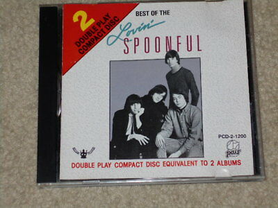 The Lovin' Spoonful - Best Of (CD Double Play Pair Buddah 1988) - FREE SHIPPING