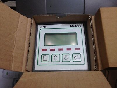 LTH  MCD53PI 1185  Conductivity / Resistivity Monitor 2 Relay & 1 Current Output