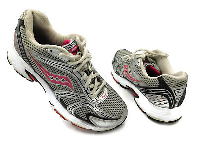 acc4b4bd2c1e Womens Saucony Oasis Running Training Shoes US 15096-1 Pink Silver SIZE 9.5