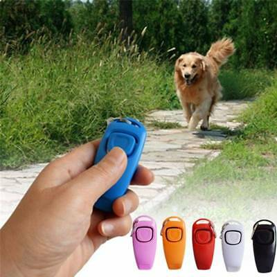 1PC Puppy Dog Training Whistle Clicker Pet Dog Trainer Aid Guide Dog Supply