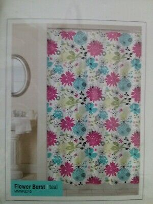 Blue Black Magic Makeover by Park B Smith Shower Curtain Mod Square Azure