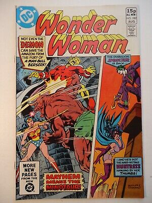 WONDER WOMAN #282 DC Comics 1981 VFn /feat The Joker + Etrigan the Demon
