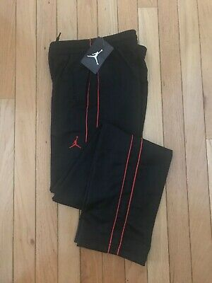 61e0199ab57c NWT Nike Jumpman Youth Athletic Pants Black White 951103-KR7  45 F50