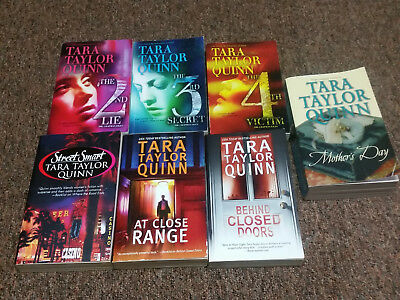 TARA TAYLOR QUINN 7 books SERIES: CHAPMAN FILES, plus others