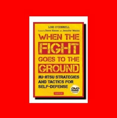 ☆Martial Arts Book:when The Fight Goes To Ground:jiu-Jitsu(Jiujitsu) Strategies☆