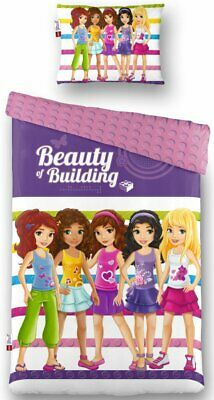 LEGO Friends Single Duvet 140x200 Cotton