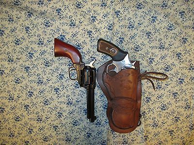 WESTERN COWBOY SINGLE Loop Holster Ruger SP101 357/22 and 22