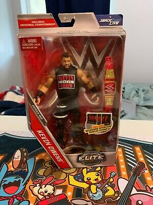 Mint Packaging Kevin Owens Elite Series 53 WWE Mattel Brand New Action Figure
