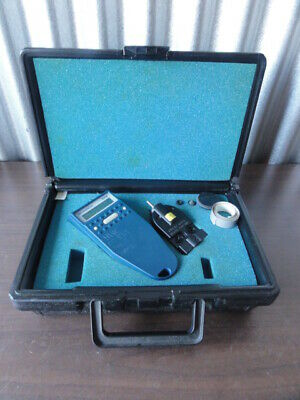 Monarch Digital Tachometer with Case and Accessories. Tested and Working
