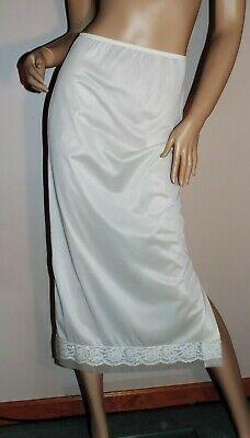 cfd65320a Vintage Half Slip SALE EVERY SIZE   STYLE by Movie Star Full Length White  EXC S