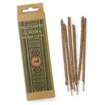 Authentic Palo Santo and Copal Incense Sticks - Love & Purity