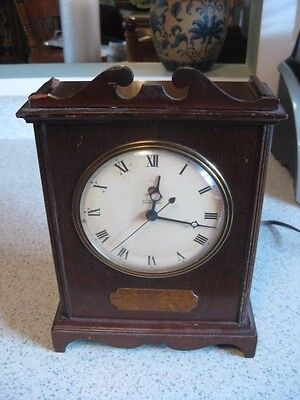 "TELECHRON Clock 1930's -1940's  11"" x 8"" x 4"" For Parts or Repair Made in USA"