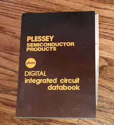 Plessey Semiconductors Telecoms Integrated Circuit (IC) Handbook Data Book 1976