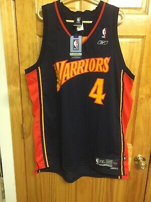 b2faa535a36 NBA JERSEY GOLDEN STATE WARRIORS DEREK FISHER REEBOK SWINGMAN SZ Xl RARE