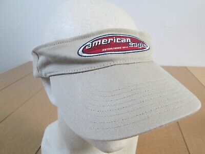 8389d5b21a805 Vintage American Eagle Outfitters AE Fishing Hiking Embroidered Dad Hat  Visor