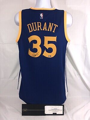 8569022f Kevin Durant Signed Autographed Golden State Warriors Jersey W/ Panini Coa