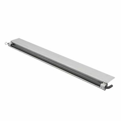 """Aluminum Skid Seat Attaching Bracket for Pin-End Ramp Systems - 48"""" L"""