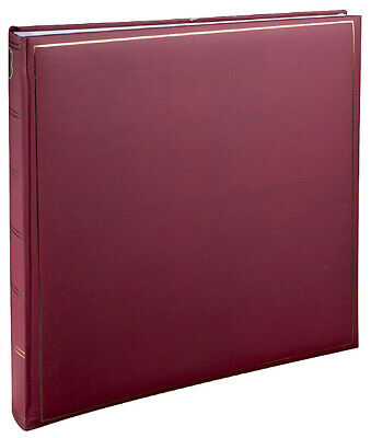 Henzo 10.198.09 Champagne photo album Burgundy Leatherette,Paper Traditional