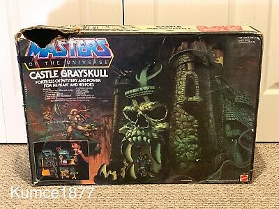 MOTU, Masters of the Universe, Castle Grayskull, He-Man, Complete MIB, 8 Back,