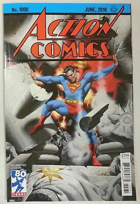 Superman ACTION COMICS # 1000 DC Comic ~ STEVE RUDE 1930's  Variant Cover NEW