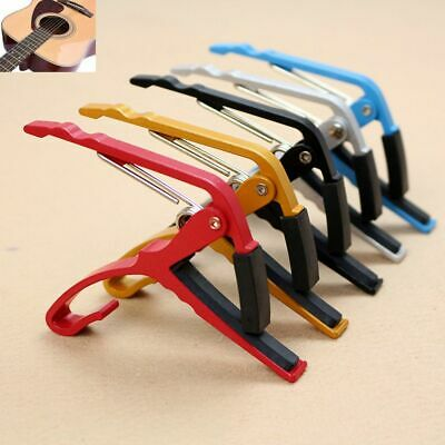 Key Clamp Trigger Musical Instrument Accessories Acoustic Electric Guitar Capo