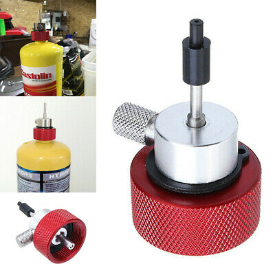 Airsoft Propane Filling Adapter for Green Gas Tank Coupler W/ Silicone Oil Port