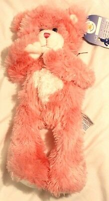 1 Collectable Build A Bear Unstuffed Pink Kisses Teddy Magnets New NWT rare BABW