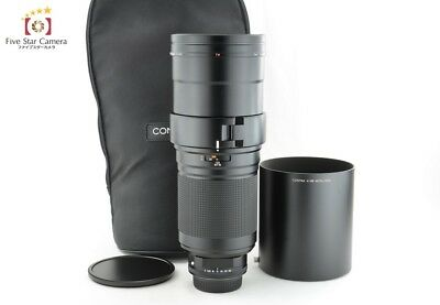 Near Mint!! CONTAX Carl Zeiss Tele Apotessar 400mm f/4 T* AF N Mount from Japan