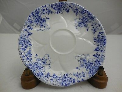 Vintage Shelley England English Bone China Dainty Blue Saucer Only
