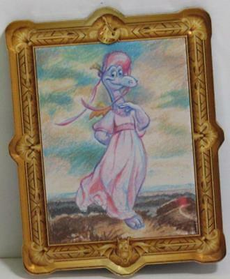 Disney Parks EPCOT Festival of the Arts FIGMENT as Pinkie Masterpiece Art Magnet