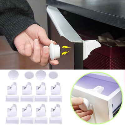 Safety Baby Magnetic Invisible Child Proof Cupboard Drawer Lock Pet Kid Security