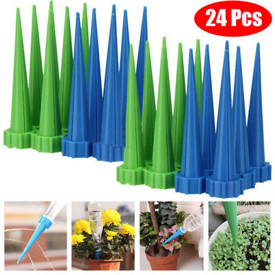Plastic Automatic Garden Cone Watering Spike Plant Waterers Bottle Irrigation