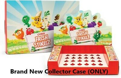 Coles Fresh Stikeez - Band New Collector Case - Sealed - (CASE ONLY)