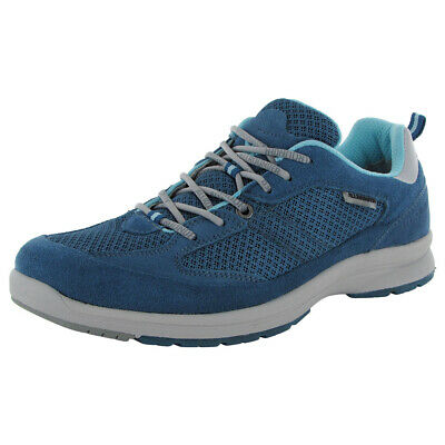 98c2e8d783319c Mephisto Allrounder Womens Darga Lace Up Walking Sneaker Shoes, Blue, US 8.5